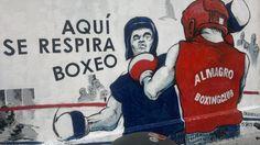 """Aquí se respira Box"" mural realizado en Almagro Boxing Club de Yatay y Díaz Vélez Ronald Mcdonald, Club, Fictional Characters, Boxing, Hipster Stuff, Fantasy Characters"