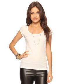 Puffed Sleeve Tee from Forever21.com