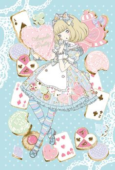 A lovey picture drawn by Kira Imai.