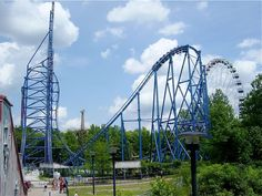 Mr. Freeze at Six Flags St. Louis!! One of my all-time favorite rollercoasters!