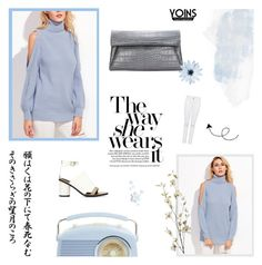 """""""Yoins II: BLUE AS THE SKY"""" by paradiselemonade ❤ liked on Polyvore featuring Pier 1 Imports, yoins, yoinscollection and loveyoins"""