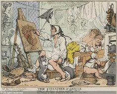 Thomas Rowlandson: The Chamber of Genius