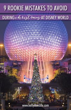 Disney World at Christmas time is even more magical than you can imagine! Make sure you enjoy everything the holidays have to offer at Disney.