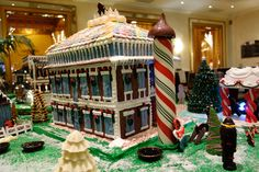 All sizes | Gingerbread Houses - Plantations - Roosevelt Hotel - New Orleans, LA | Flickr - Photo Sharing!