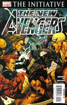 New Avengers # 29 by Leinil Francis Yu
