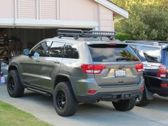 Jeep & Off-Road Discussion Community Jeep Grand Cherokee Laredo, Grand Cherokee Trailhawk, 2013 Jeep Grand Cherokee, Jeep Wrangler Lifted, Jeep Wrangler Unlimited, Jeep Wranglers, Lifted Jeeps, Jeep Wk, Roof Rack Basket