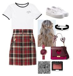"""Sin título #131"" by fautumm on Polyvore featuring moda, Vans, Anya Hindmarch, rag & bone, Kenneth Jay Lane y NARS Cosmetics"