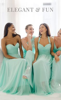 Gorgeous gowns. Pretty prices. Shop with your 'maids on Weddington Way!