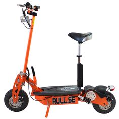 El-scooter 1300W - ORANGE