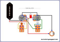 the guitar wiring blog diagrams and tips wiring for p90 pickups rh pinterest com Epiphone Dot Studio Wiring-Diagram Epiphone Wiring Harness