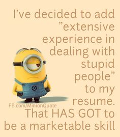 """These """"Top Humorous Minion Quotes"""" are especially collected for you.It will make you funny for whole day.So scroll down and keep reading these """"Top Humorous Minion Quotes"""". Amor Minions, Minions Love, Minion Jokes, Minions Quotes, Funny Minion, Minion Sayings, Minion Stuff, Funny Sayings, Minion Pictures"""
