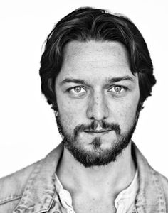 JAMES MCAVOY- sigh; No bun but he doesn't NEED ONE.