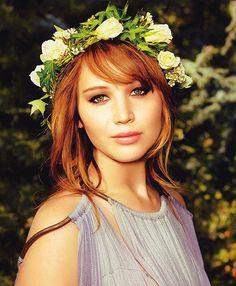 Jennifer Lawrence in Glamour. Gorge!