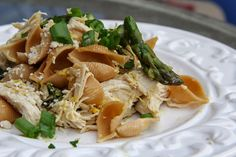 Mix and Match Mama: Dinner Tonight: Lemon & Asparagus Chicken Pasta