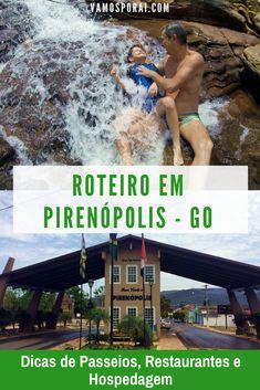 Programando visitar Pirenópolis em Goiás? Esse roteiro de dois dias na cidade tem dicas de passeios, restaurantes e hospedagem. #Pirenópolis #Vemprapiri #Goias #Dicasdeviagens