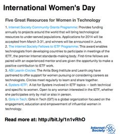 Five great resources for women in tech