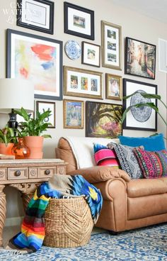 People are making their couches a visual passport, mixing patterns from multiple destinations. Searches for mudcloth textiles +86% YoY and searches for kilim pillows +163% YoY