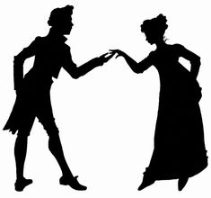 Jane Austen silhouettes: My post is all about some lovely silhouettes I recently completed for a UK based clothing & luxury lingerie company.
