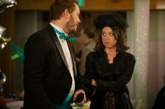 "April and Andy prove opposites attract. Rabbit Ear Reviews: Parks and Recreation rocks #ThrowbackThursday: Review of ""Prom"" and ""Flu Season 2"""