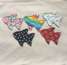 Cloth panty liner daily wear 7 inch fish shaped reusable washable sanitary cloth menstrual pad