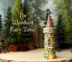 The Woodland Fairy Tower The Bewildering Pine by bewilderandpine