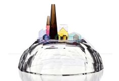Design duo Michaela Tomiskova and Jakub Jandurek started Dechem in Prague with the intention of presenting traditional glass-blowing in a different light. Glass Building, Idee Diy, Little Houses, Stained Glass, Glass Art, Mosaic, Cool Stuff, Studio, Modern Lamps