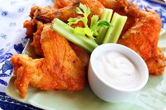 The Comfort of Cooking » Baked Buffalo Wings