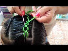 Kids School Hairstyles, Childrens Hairstyles, Cute Hairstyles For Kids, Fishtail Hairstyles, Girl Hairstyles, Teased Ponytail, Waterfall Hairstyle, Disney Princess Hairstyles, Girl Hair Dos