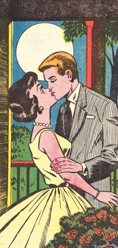 about the fabulous art of comics drawings and sketches Vintage Pop Art, Vintage Comic Books, Vintage Romance, Vintage Comics, Comic Books Art, Comic Art, Romance Art, Comics Love, Comics Girls