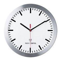 IKEA BURRIG radio-controlled wall clock