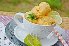 Troll a konyhámban: Karibi sárgarépás mangós fagyi - paleo Hungarian Recipes, Hungarian Food, Paleo, Sorbet, Gelato, Ice Cream, Desserts, Troll, No Churn Ice Cream