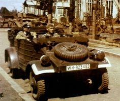 German World War 2 Colour Kubel
