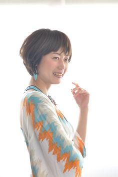 50代女性ヘアスタイル髪型編、綺麗なシルエット!オススメ特集の画像 Women Pinterest