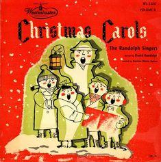 "Vintage Christmas Album ~ ""Christmas Carols"" by The Randolph Singers, 1952"