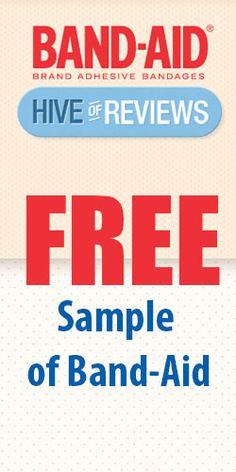 Free Sample of Band-Aid #bandaids #freesample