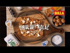 Cibulový koláč podle Honzy Punčocháře - YouTube Dairy, Cheese, Food, Youtube, Essen, Meals, Yemek, Youtubers, Eten