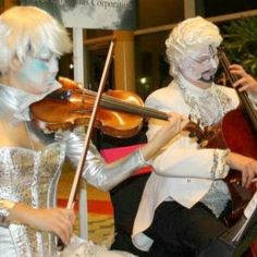 Ice-themed musicians for Holiday events with http://www.jdentertain.com/