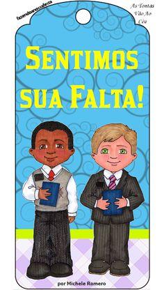 """As Tontas Vão Ao Céu: Marcadores - """"Sentimos Sua Falta!"""" (português e es..."""