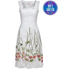 Latin Spirit Dress in White or Black