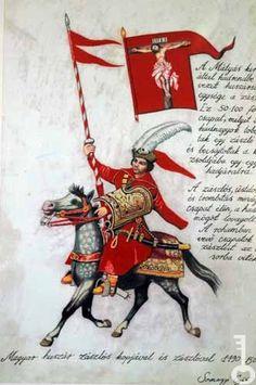 magyar huszár zászlós kopjával és zászlóval Renaissance, Kingdom Of Jerusalem, Thirty Years' War, Knights Templar, Modern Warfare, 15th Century, World History, Hungary, Poland