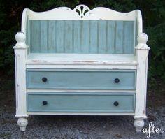 Love repurposed dressers
