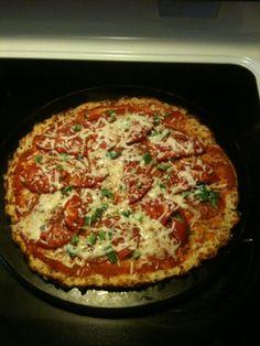 THM fooled ya pizza with cauliflower crust