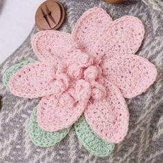 Bodacious Flowers Pattern | LC2534 | Purple Kitty. ﻬஐCQஐﻬ #crochet #spring #crochetflowers #flowers