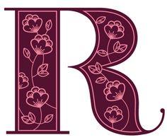 Jessica Hische R #alphabet #type