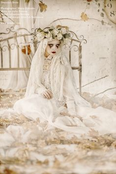 Dracula's Bride by Nava Monde Model: Lulu Savvina... - mlle ghoul's fairy tales from the shadows