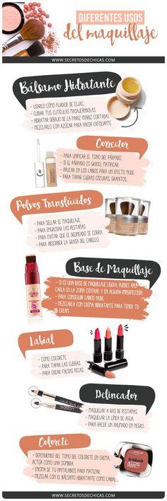 Usos del maquillaje #ConTuMarca