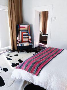 textiles inside the love house at Corte del Norte / sfgirlbybay