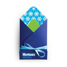 New Year Gift Set (HUGGIES) by Yurko Gutsulyak, via Behance