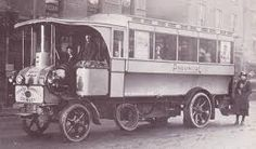 Yorkshire Steam Bus Vintage Cars, Antique Cars, White Tractor, Bus City, Steam Tractor, Truck Transport, Buses And Trains, Antique Tractors, Bus Coach
