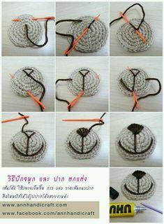 Mesmerizing Crochet an Amigurumi Rabbit Ideas. Lovely Crochet an Amigurumi Rabbit Ideas. Crochet Eyes, Crochet Diy, Crochet Bear, Crochet Animals, Crochet Crafts, Crochet Dolls, Crochet Stitches, Crochet Projects, Crochet Turtle